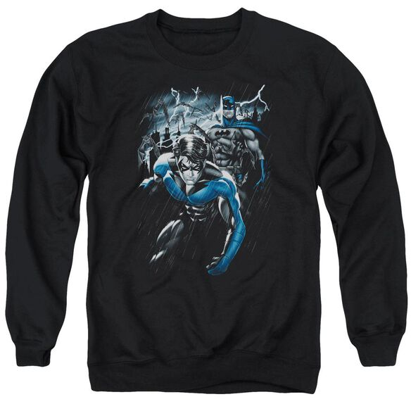 Batman Dynamic Duo Adult Crewneck Sweatshirt