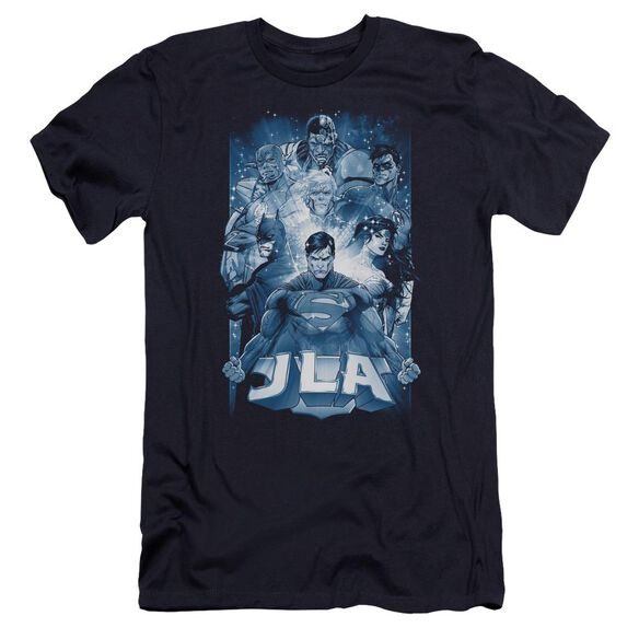 Jla Burst Premuim Canvas Adult Slim Fit