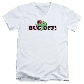 GARDEN BUG OFF - S/S ADULT V-NECK T-Shirt