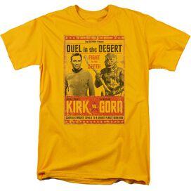 Star Trek Duel In The Desert Short Sleeve Adult T-Shirt