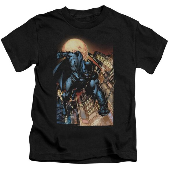 Batman The Dark Knight #1 Short Sleeve Juvenile Black T-Shirt