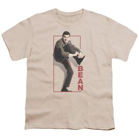 Mr Bean Tying Shoe Short Sleeve Youth T-Shirt