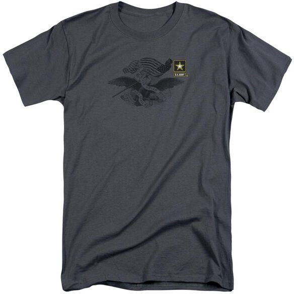 Army Left Chest Short Sleeve Adult Tall T-Shirt