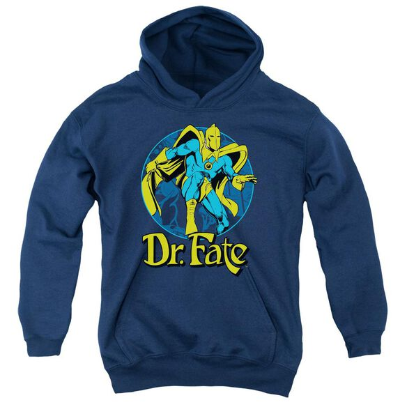 Dc Dr Fate Ankh Youth Pull Over Hoodie