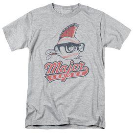 Major League Vintage Logo Short Sleeve Adult Athletic T-Shirt