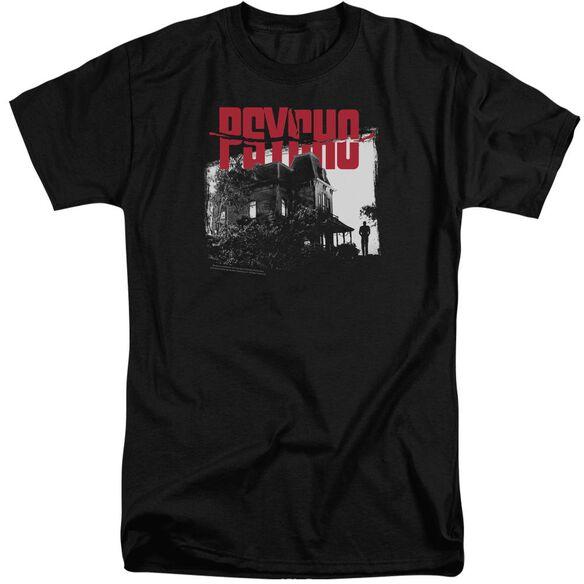 Psycho Bates House Short Sleeve Adult Tall T-Shirt