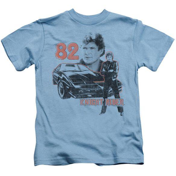 Knight Rider 1982 Short Sleeve Juvenile Carolina Blue Md T-Shirt