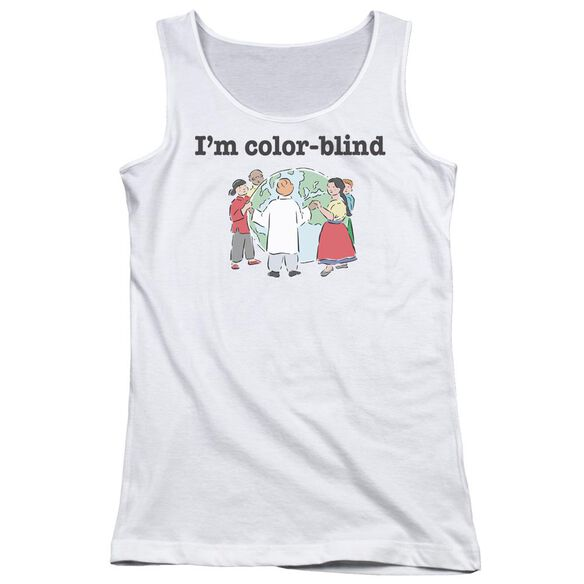 Color Blind Juniors Tank Top