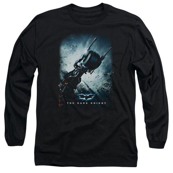 Dark Knight Bat Pod Poster Long Sleeve Adult T-Shirt