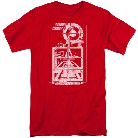 Atari Lift Off Short Sleeve Adult Tall T-Shirt
