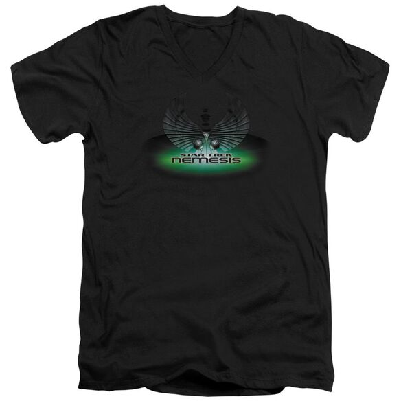 Star Trek Nemesis(Movie) Short Sleeve Adult V Neck T-Shirt