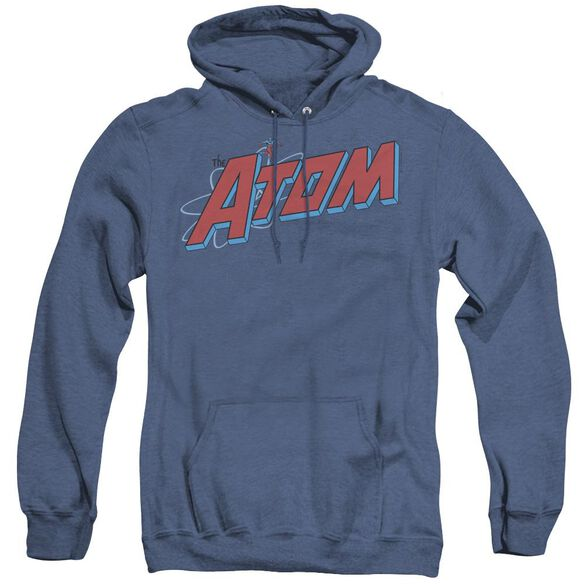 Dc The Atom - Adult Heather Hoodie - Royal Blue