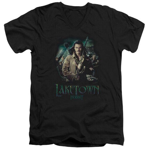 Hobbit Protector Short Sleeve Adult V Neck T-Shirt