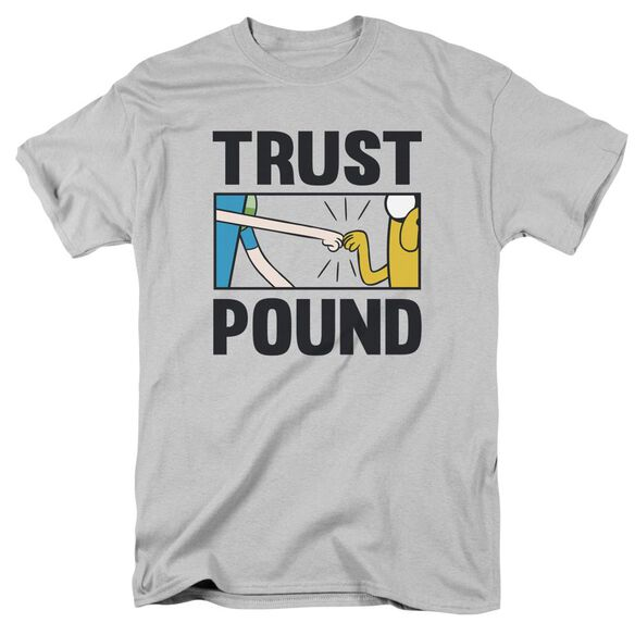 Adventure Time Trust Pound Short Sleeve Adult T-Shirt