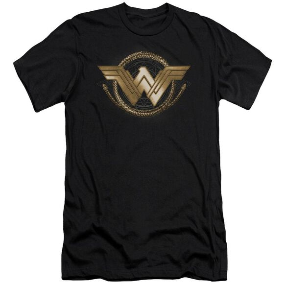 Wonder Woman Movie Lasso Logo Hbo Short Sleeve Adult T-Shirt