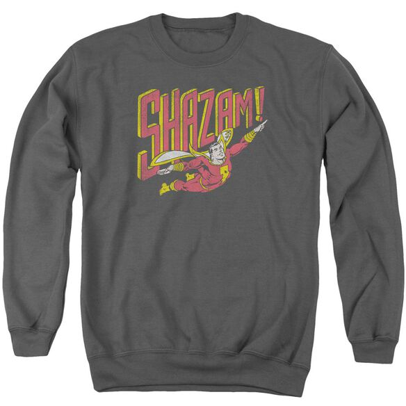 Dc Retro Marvel Adult Crewneck Sweatshirt