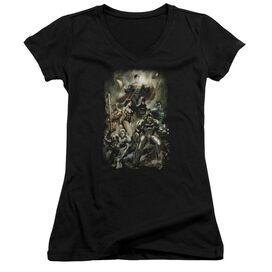 Jla Aftermath Junior V Neck T-Shirt