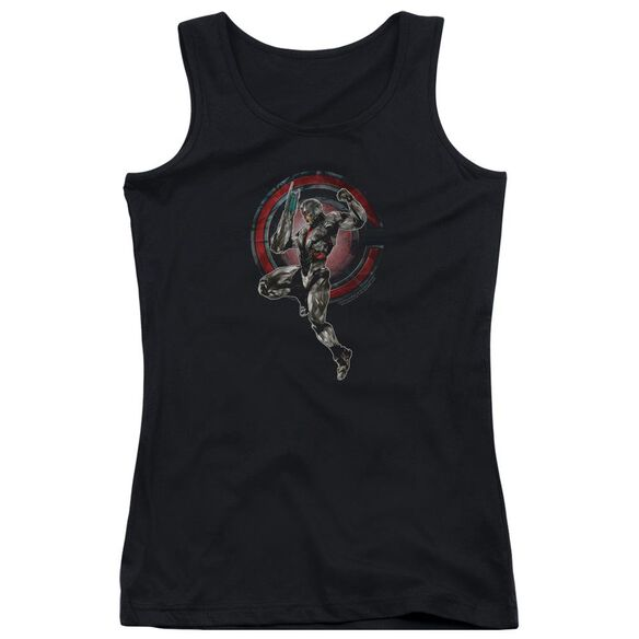 Justice League Movie Cyborg Juniors Tank Top