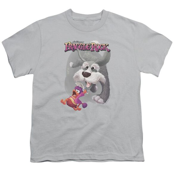 Fraggle Rock In Pursuit Short Sleeve Youth T-Shirt