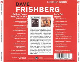 Dave Frishberg - Lookin' Good: Getting Some Fun Out of Life/Let's Eat Home
