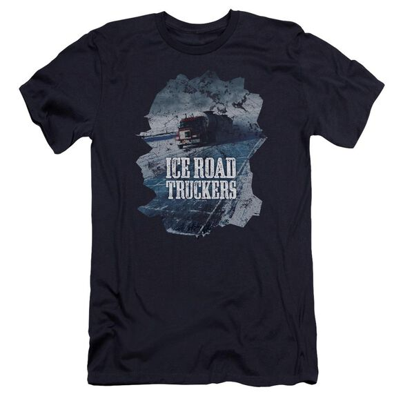 Ice Road Truckers Ice Road Hbo Short Sleeve Adult T-Shirt
