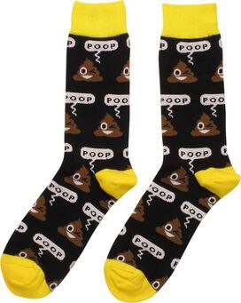 Poop Emoji Crew Socks