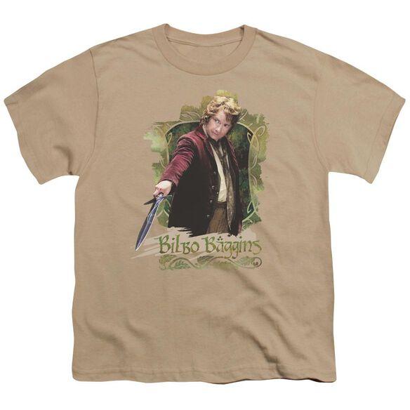 The Hobbit Bilbo Baggins Short Sleeve Youth T-Shirt
