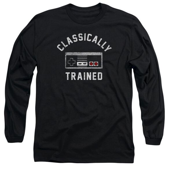 Classically Trained Long Sleeve Adult T-Shirt