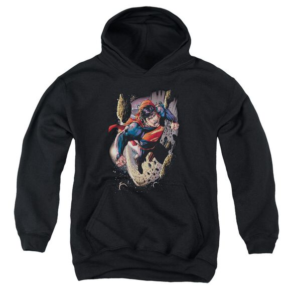 Superman Orbit Youth Pull Over Hoodie