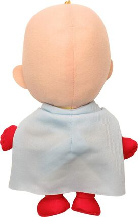 One Punch Man Saitama Plush