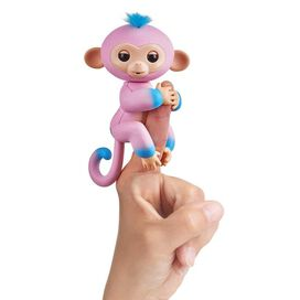 Fingerlings Baby Monkey - Candi (Pink with Blue Accents)