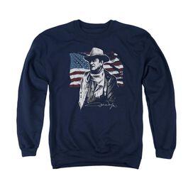 John Wayne American Idol Adult Crewneck Sweatshirt