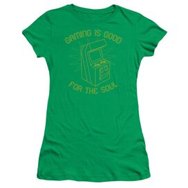 Gaming For The Soul Short Sleeve Junior Sheer Kelly T-Shirt