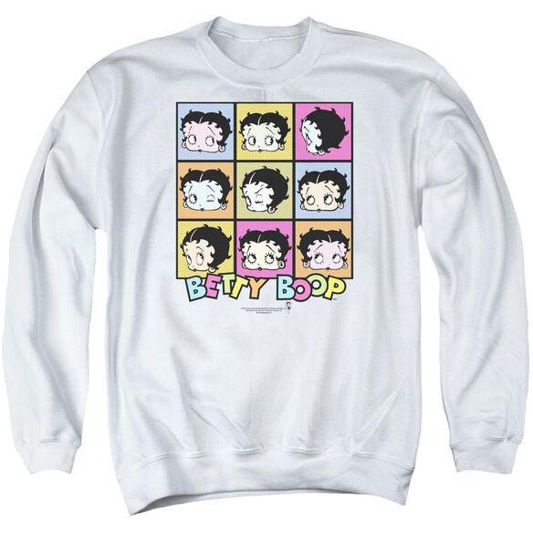 Betty Boop She's Got The Look Adult Crewneck Sweatshirt