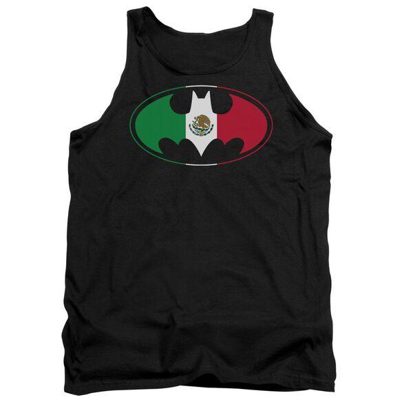 Batman Mexican Flag Shield Adult Tank