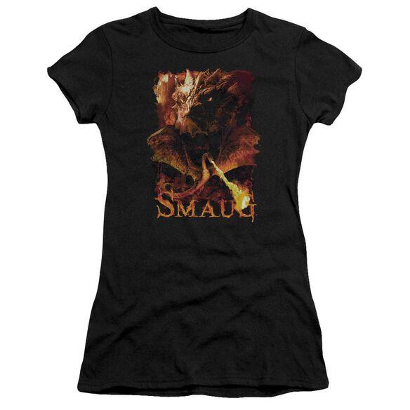 Hobbit Smolder Short Sleeve Junior Sheer T-Shirt