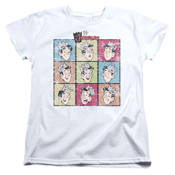 Archie Comics Jug Heads Short Sleeve Womens Tee T-Shirt