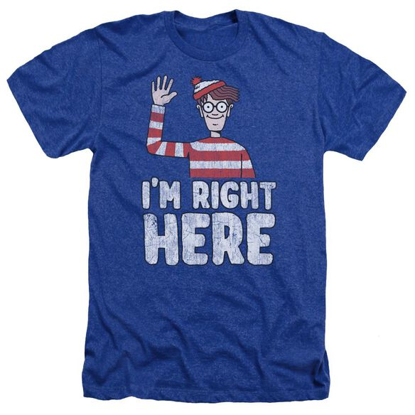 Wheres Waldo Im Right Here Adult Heather Royal