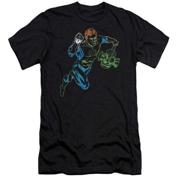 GL NEON LANTERN - S/S ADULT 30/1 - BLACK T-Shirt