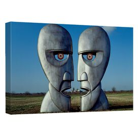Pink Floyd The Division Bell Canvas Wall Art With Back Board
