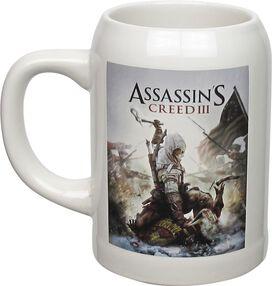Assassins Creed 3 Cover Art Stein Mug