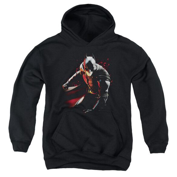 Dark Knight Rises Ready To Punch Youth Pull Over Hoodie