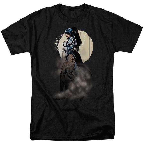Jla Zatanna Illusion Short Sleeve Adult T-Shirt