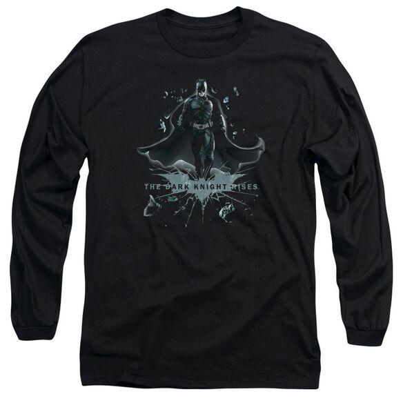 Dark Knight Rises Break Through Long Sleeve Adult T-Shirt