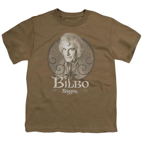 Lor Bilbo Baggins Short Sleeve Youth Safari T-Shirt