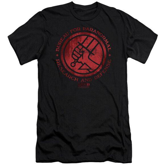 Hellboy Ii Bprd Logo Premuim Canvas Adult Slim Fit