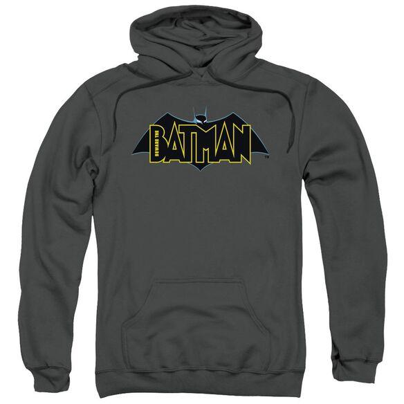 Beware The Batman Logo Adult Pull Over Hoodie