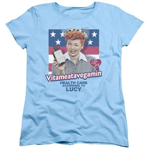 I Love Lucy Health Care Short Sleeve Womens Tee Light T-Shirt
