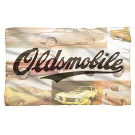 Oldsmobile Old Classics Fleece Blanket