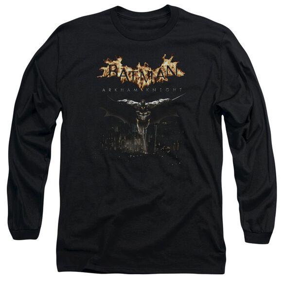 Batman Arkham Knight City Watch Long Sleeve Adult T-Shirt